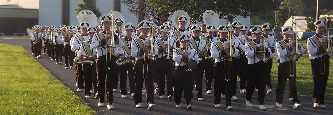 Lincoln High Band preps for 2014 season