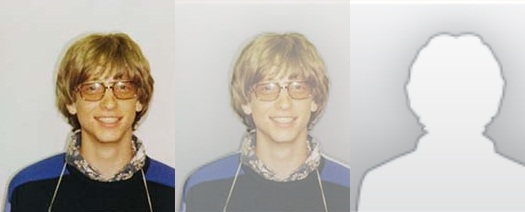 Is that Bill Gates staring back at you from Outlook 2010?