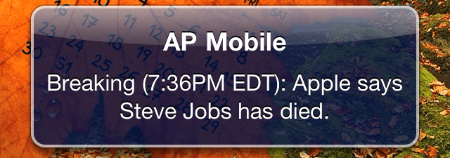 Thoughts on Steve Jobs (1955-2011)