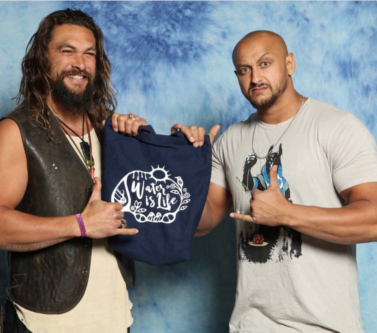 Jason Momoa & Mada Abdelhamid Join Forces With Water Is Life