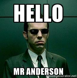 Mr Anderson