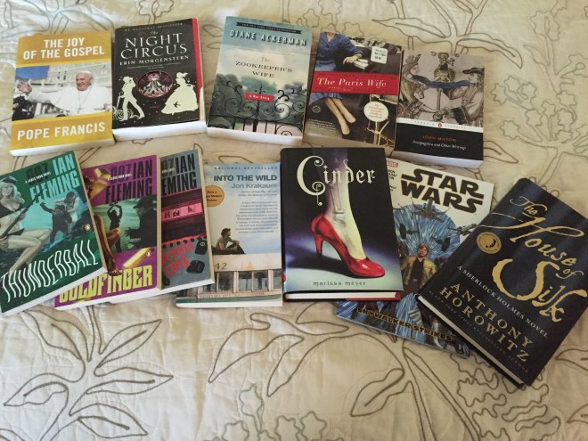 January 2016 Bookhaul