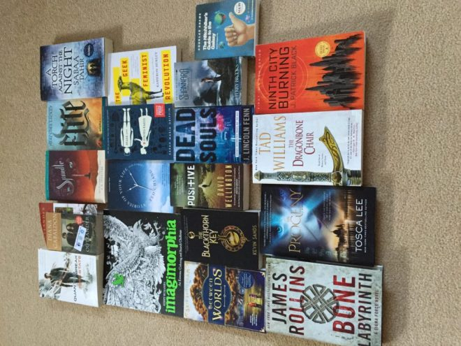 Unsigned SDCC2016 Books