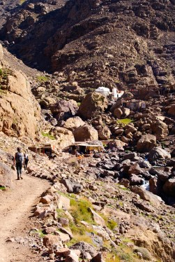 Temple on the way to Jebel Toubkal