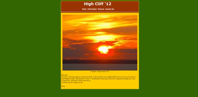 FVL High Cliff