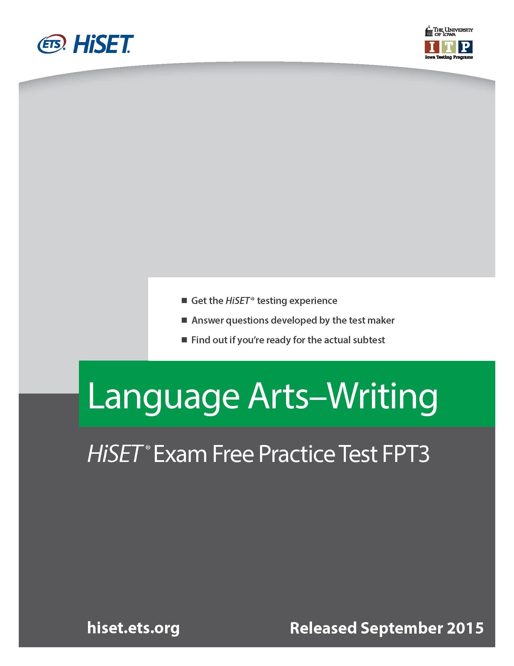 Hiset Essay Prompts