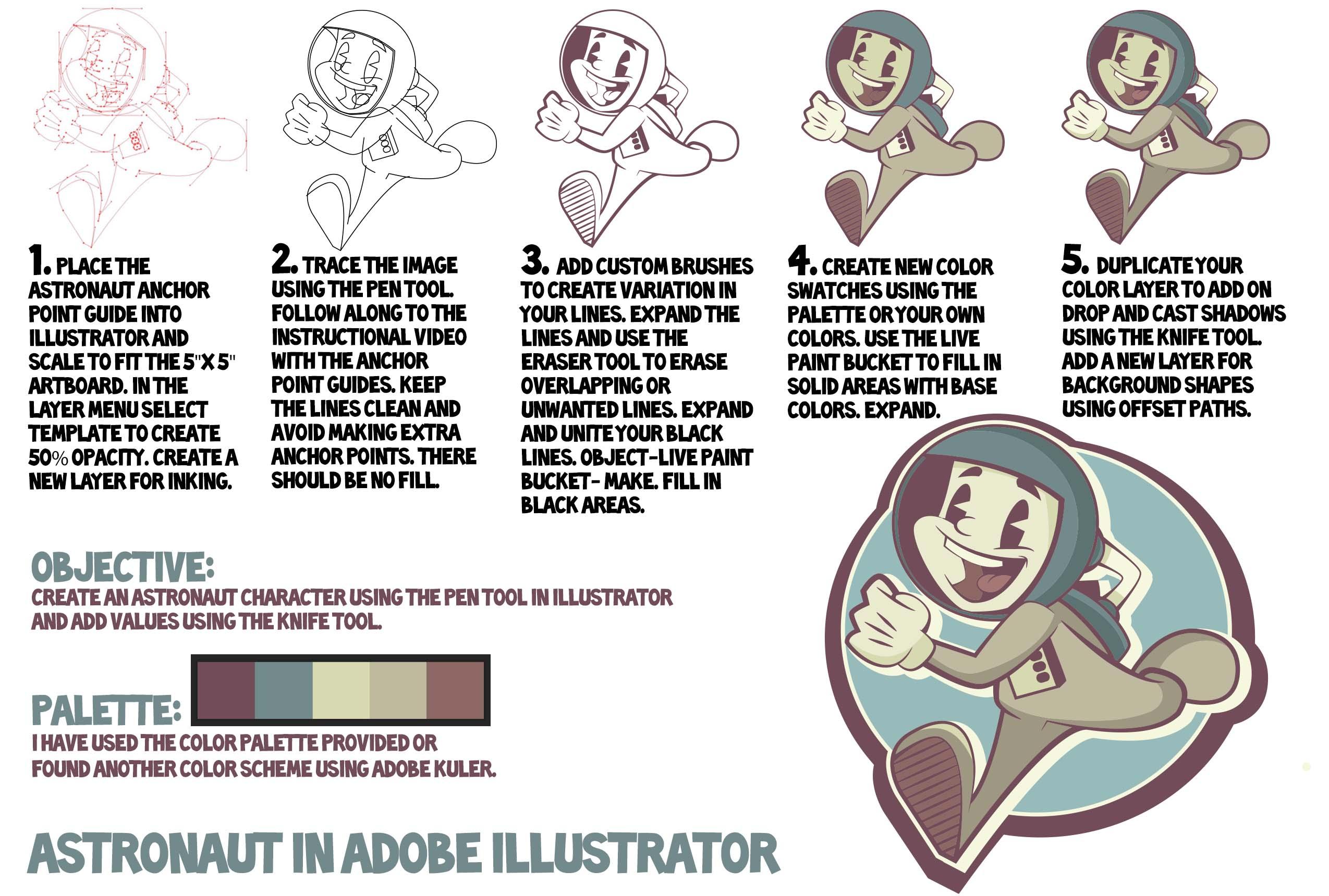 Beginner Adobe Illustrator Tutorial Easy Shading