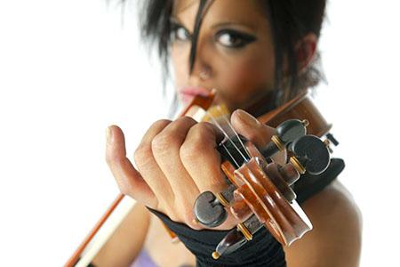 Nina Lordi - Professional violinist.