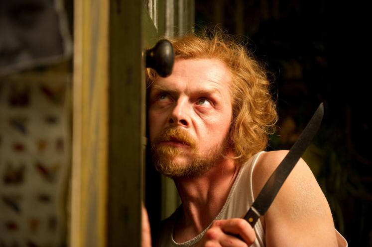 Simon Pegg interview / Oh Comely - A Fantastic Fear of Everything