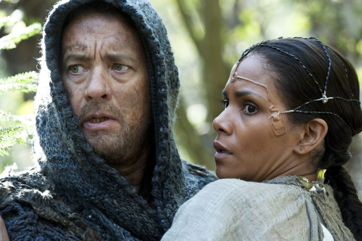 Cloud Atlas (2013), directed by Lana Wachowski, Tom Tykwer and Andy Wachowski, starring Tom Hanks and Halle Berry.