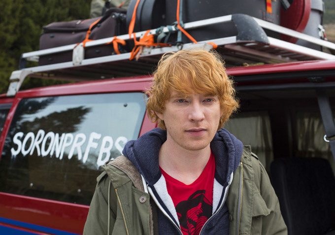 Domnhall Gleeson (Frank) interview / Oh Comely