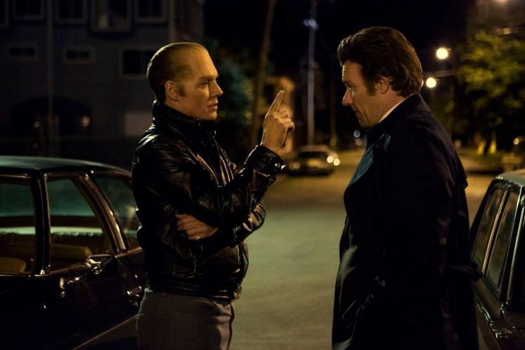 Johnny Depp and Joel Edgerton in Black Mass, directed by Scott Cooper / Curzon Magazine