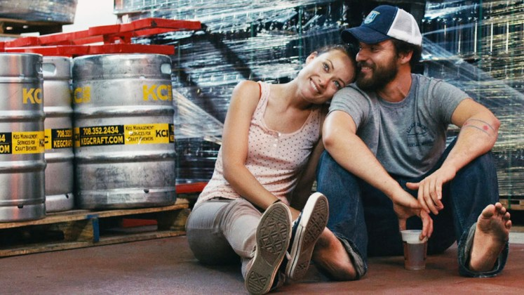 Drinking Buddies (2013), directed by Joe Swanberg and starring Olivia Wilde, Jake Johnson, Ron Livingston and Anna Kendrick.