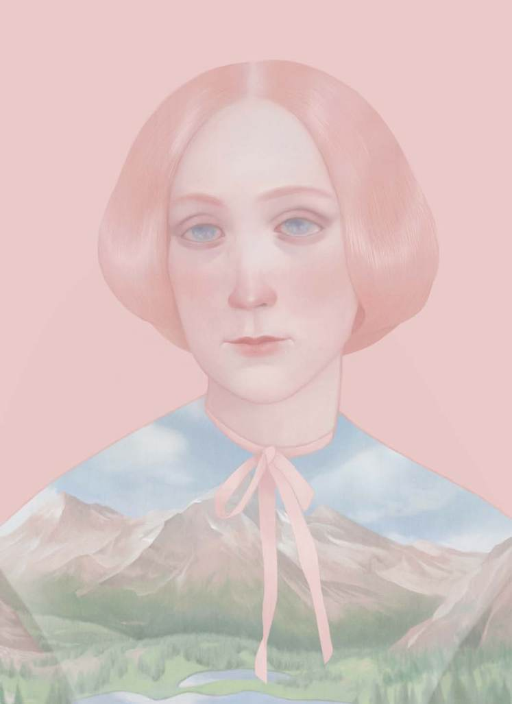 Lady Charlotte Guest, published in Oh Comely Issue 21, illustration by Hsiao Ron Cheng