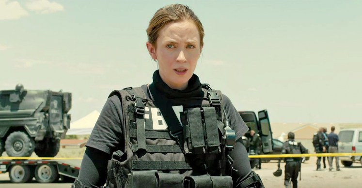 Feature for Curzon Magazine on Sicario, directed by Denis Villeneuve and starring Emily Blunt, Josh Brolin and Benicio del Toro.