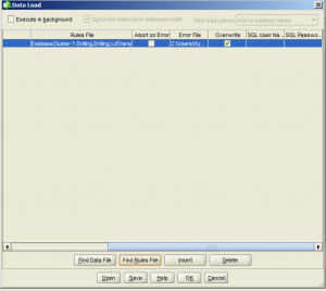 Essbase Data Load from SQL Load Rule