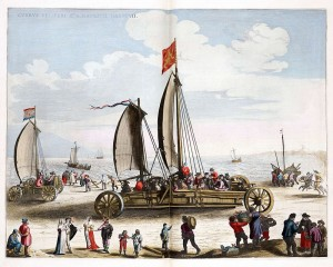 Stevin sail wagon