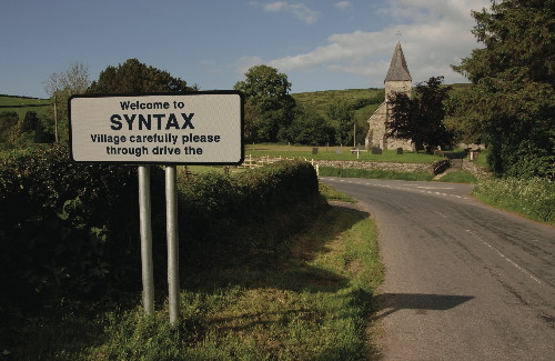 The little village of Syntax