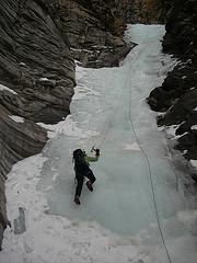The Thrill of Ice Climbing in Jasper.