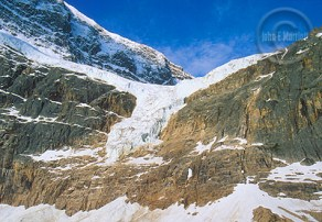 Mount Edith Cavell's Angel Glacier, a Jasper must-see.