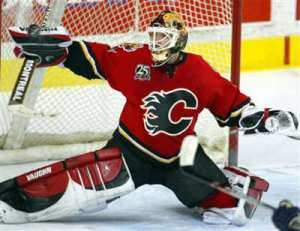 Come to Banff and Take in an NHL Hockey Game in nearby Calgary. Go Flames!