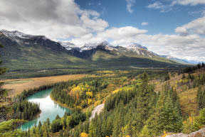 Bow Valley Parkway, Banff National Park, Canadian Rockies