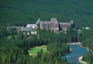 Fairmont Banff Springs in Banff National Park, Canadian Rockies