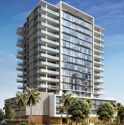 Aquablu Condo on Fort Lauderdale's Beach, directly on the Intracoastal waterway