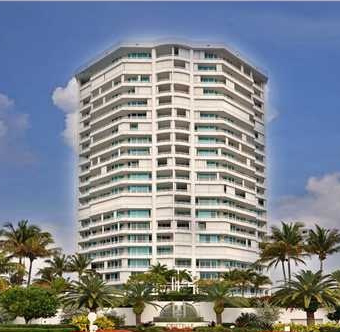 Cristelle condo in lauderdale by the sea is on the ocean front.