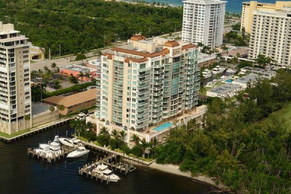 Le Club International Condos on Fort Lauderdale Beach