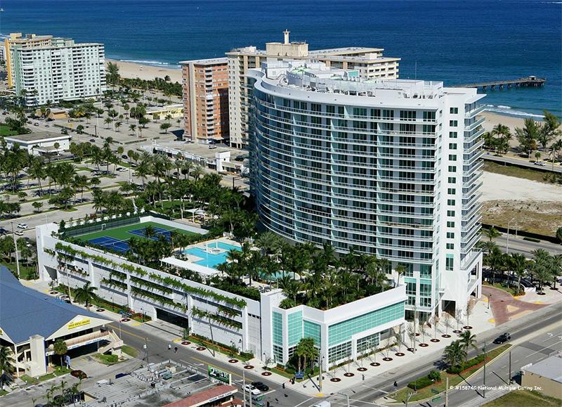 Plaza at Oceanside condo in Pompano Beach
