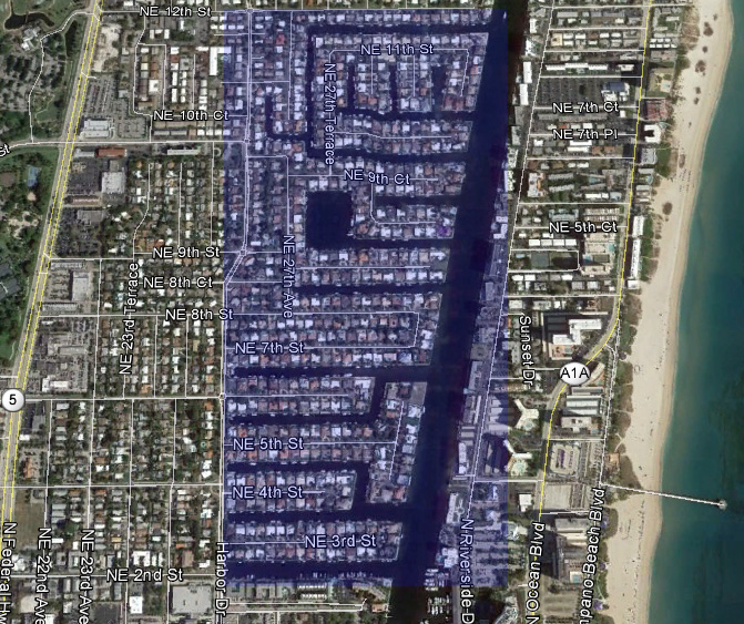Waterfront homes for sale on Pompano Beach Harbor Village