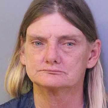 Image: Donna Byrne, arrested for a DUI while on her horse in Lakeland, Florida.