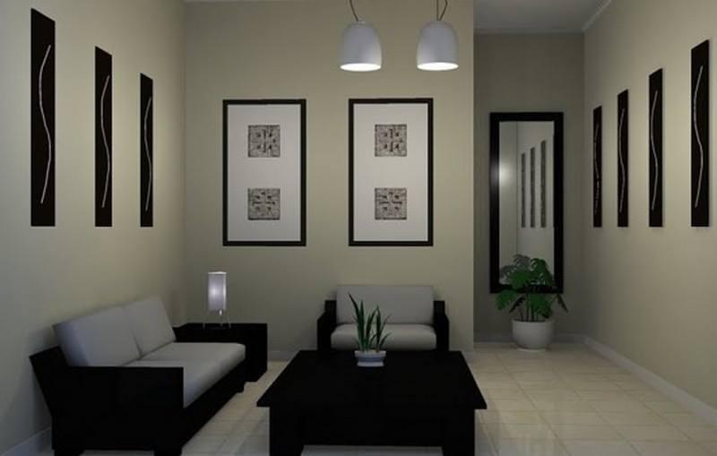 desain ruang tamu minimalis modern 2