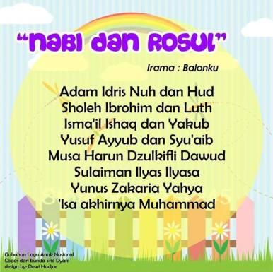 lagu anak anak islami 3