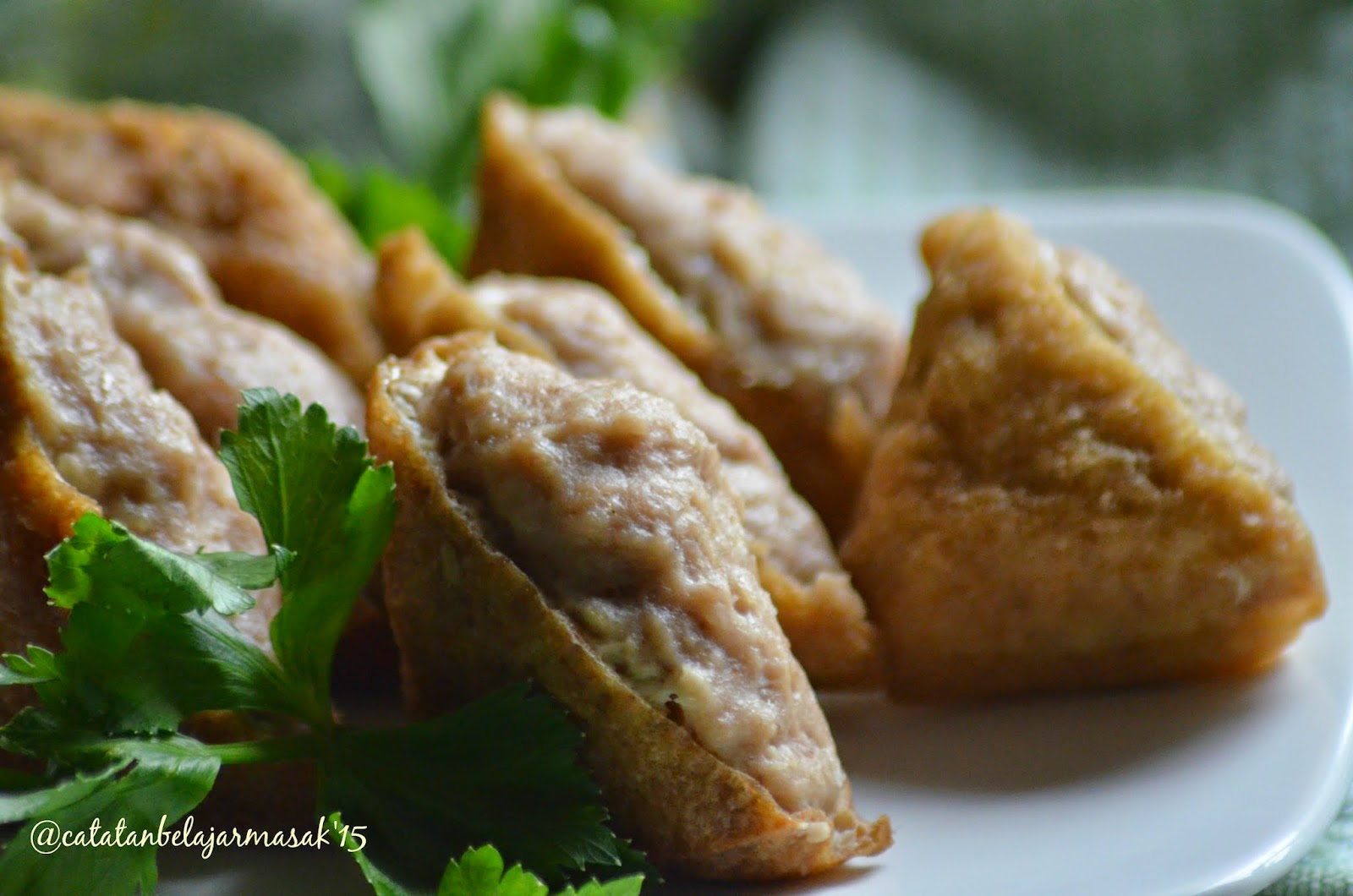 Resep Masakan Tahu Bakso Crispy, Yummy...!! - Jatik.com
