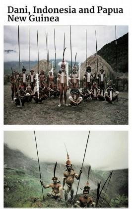suku terasing Dani, Indonesia dan Papua Nugini
