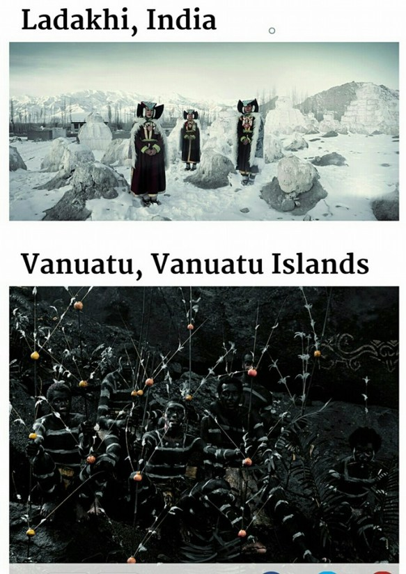 suku terasing ladakhi & Vanuatu