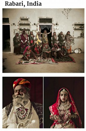 suku terasing rabari, india