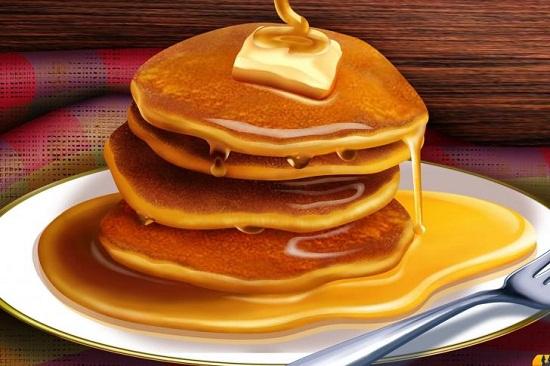 Resep Membuat Pancake Madu Keju Enak - Jatik.com