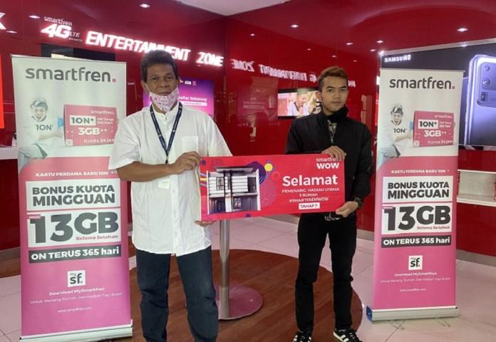 Hadiah Rumah di Smartfren WOW Tahap 7 dimenangkan Agus Herdiansyah dari Bandung