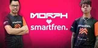 Smartfren Gandeng MORPH Team untuk Dukung Pengembangan Esports Indonesia