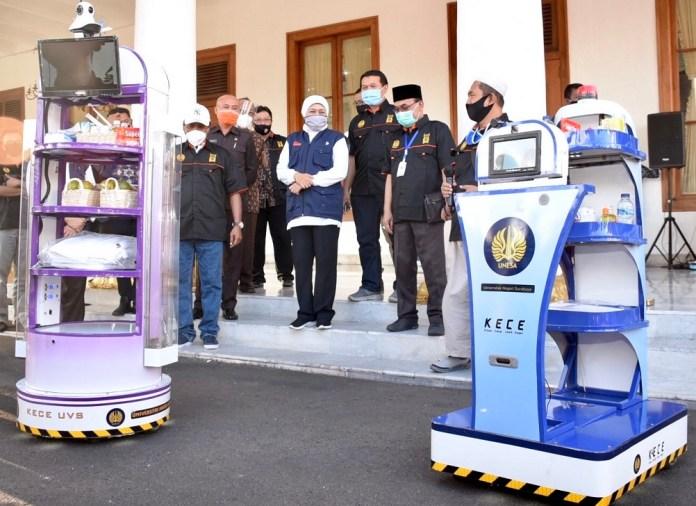 Robot KECE Akan Bantu Nakes di RS Darurat Lapangan Indrapura