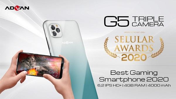 Advan G5 Jadi Best Gaming Phone 2020