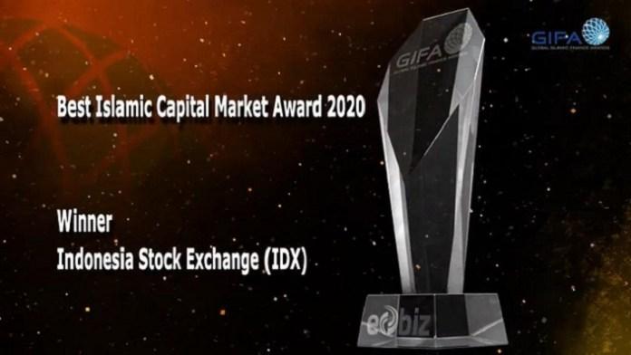 BEI Kembali Raih The Best Islamic Capital Market pada GIFA 2020