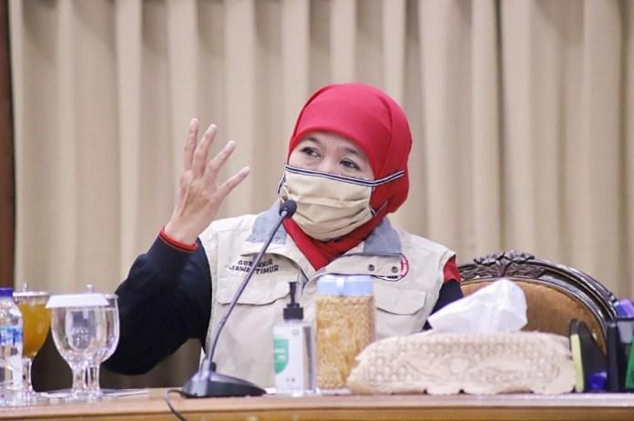 Gubernur Khofifah Ingatkan Bakal Calon Kepala Daerah Tak Libatkan Massa Besar dan Jaga Protokol Kesehatan