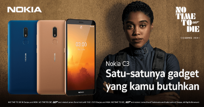 Nokia C3 Hadir di Indonesia