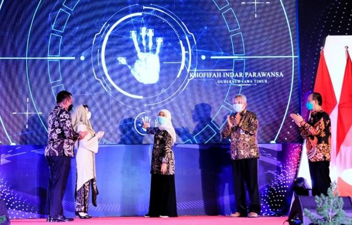 Buka Jatim Fair Virtual, Gubernur Khofifah Dorong Transformasi Digital Pelaku UMKM