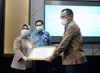 Pemprov Jatim Terima Penghargaan dari KASN Tentang Penerapan Sistem Merit