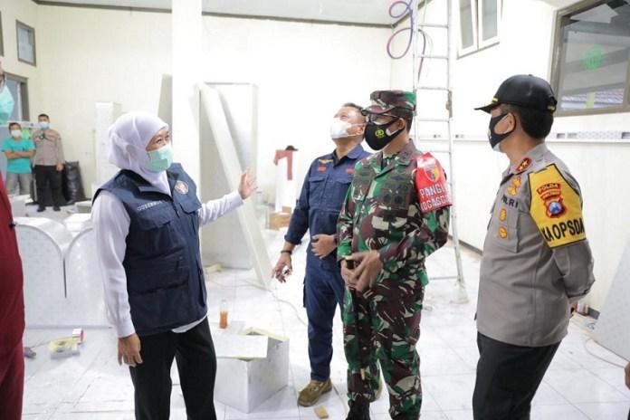 RS Lapangan di Malang akan Segera Operasi untuk Percepat Penanganan Covid-19